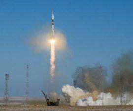 tres compañeros del Soyuz MS-07 se unirán al 54º contingente