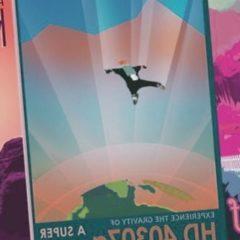 Los afiches de viaje retro de la NASA le invitan a mundos extranjeros reales