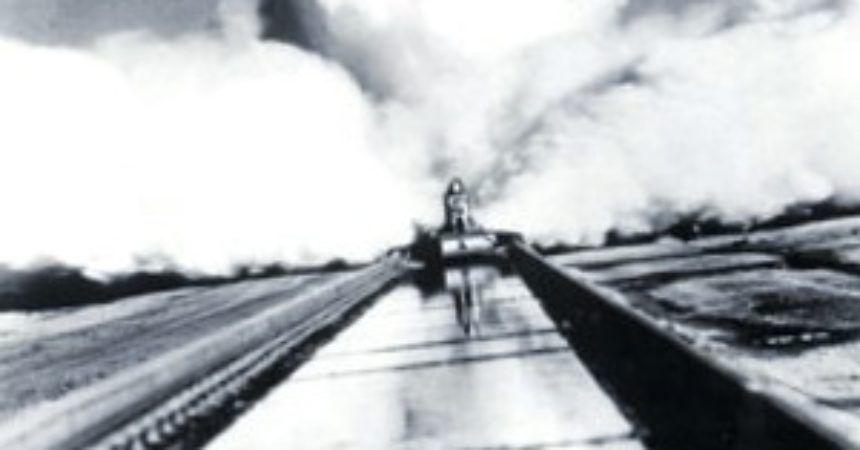 Un récord de trineo de cohetes