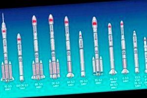 China traza nuevos planes para cohetes, estación espacial y luna