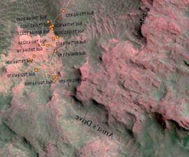Curiosity de Mars Rover vuelve a golpear el camino después de un corto circuito -
