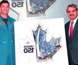 """El sello canadiense """"Canada 150"""" de Canada Post"""