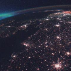 Astronauta captura hermosa Aurora desde el espacio