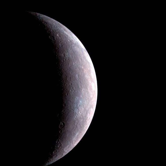El viento solar podría explicar el campo magnético del planeta Mercurio