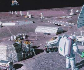 Impresión en 3D de un laboratorio lunar