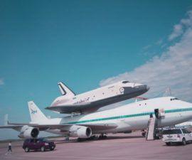 El transbordador espacial Enterprise