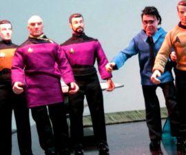 Fans de Star Trek lanzarán Kirk y Picard al borde del espacio -