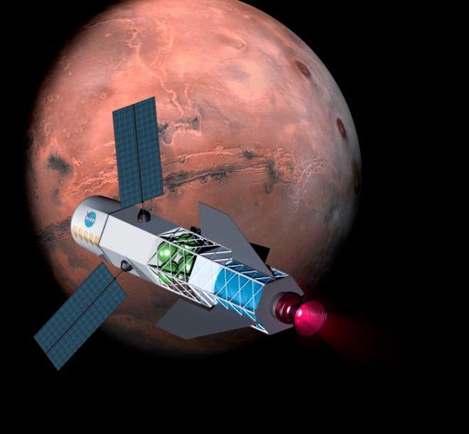 Científicos dicen que los viajes rápidos a Marte impulsados por la fusión no son fantasía