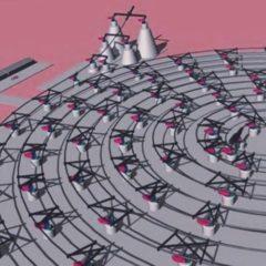 Reusable' Slingatron' lanza concepto que podría lanzar sondas Slingshot al espacio