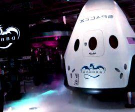 Astronautas de la nasa listos para abordar el SpaceX