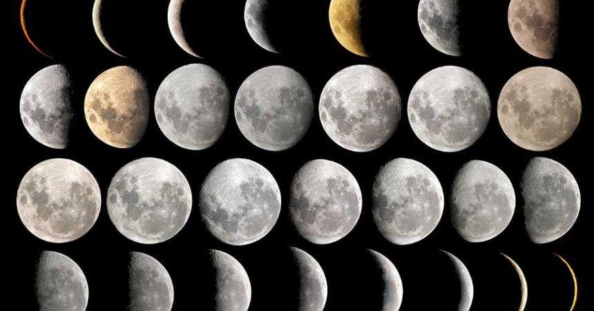 puede hacer Calendario de Fases Lunares de la NASA y Calculadora