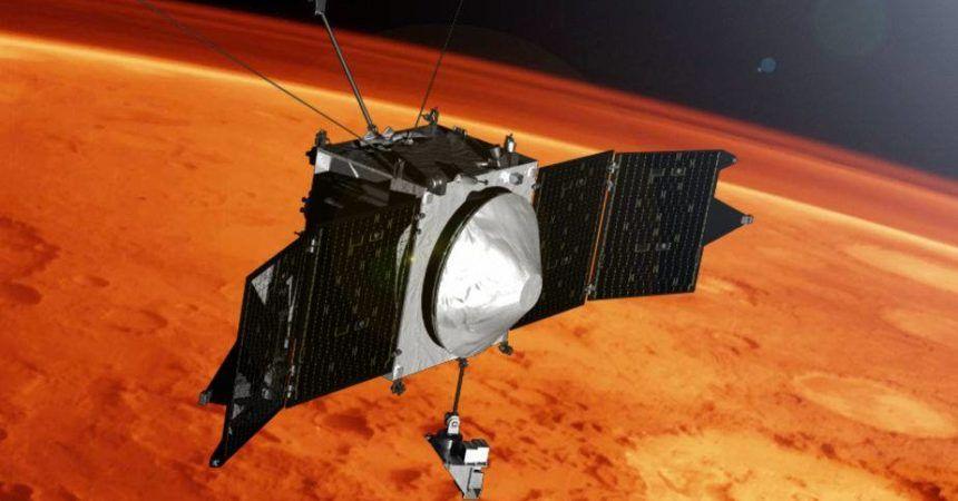 Maven orbitará Marte, buscando pistas sobre lo que pasó con su atmósfera