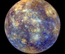 Imágenes Asombrosas de Mercurio por una Nave Espacial de la NASA