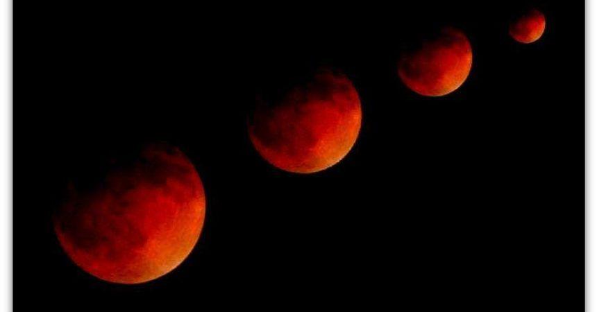 Explicación de los eclipses lunares